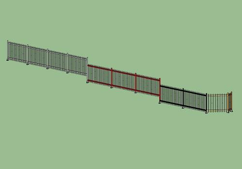 Ferro edilizia - cancellata - progetto