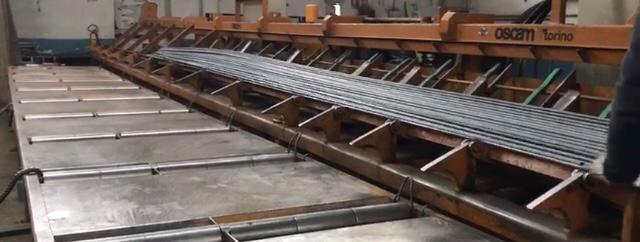 Lavorazione ferro in barre- Ferro Edilizia - Rosta