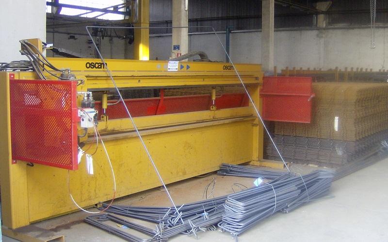 Ferro Edilizia - macchinari per il taglio e lavorazione del ferro per edilizia