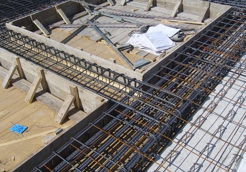 Ferro edilizia posa in cantiere
